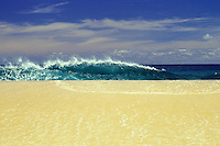 North shore wave Oahu