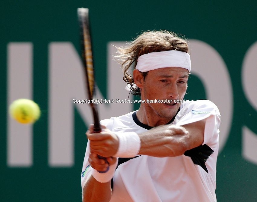 20-4-06, Monaco, Tennis,Master Series, Juan Carlos Ferrero