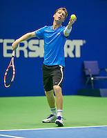 17-12-13,Netherlands, Rotterdam,  Topsportcentrum, Tennis Masters David de Goede    <br /> Photo: Henk Koster