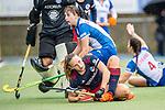 Mannheim, Germany, October 03: During the 1. Bundesliga women fieldhockey match between Mannheimer HC and Grossflottbeker THGC on October 3, 2020 at Am Neckarkanal in Mannheim, Germany. Final score 0-0. (Copyright Dirk Markgraf / www.265-images.com) ***