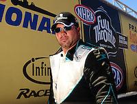 Jul. 18, 2010; Sonoma, CA, USA; NHRA top fuel dragster driver Rod Fuller during the Fram Autolite Nationals at Infineon Raceway. Mandatory Credit: Mark J. Rebilas-