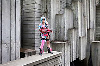 Jinx, League of Legend Cosplay, Pax West Seattle, Washington, USA.