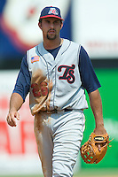 Tennessee third baseman Jamie D'Antona on defense versus Carolina at Five County Stadium in Zebulon, NC, Sunday, July 2, 2006.  The Mudcats defeated the Smokies 4-0.