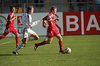 Salvatore D'Avino (FSV Mainz 05) im Zweikampf mit Holger Badstuber (FC Bayern M¸nchen)