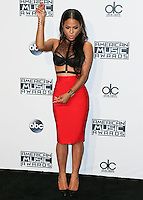 LOS ANGELES, CA, USA - NOVEMBER 23: Christina Milian poses in the press room at the 2014 American Music Awards held at Nokia Theatre L.A. Live on November 23, 2014 in Los Angeles, California, United States. (Photo by Xavier Collin/Celebrity Monitor)