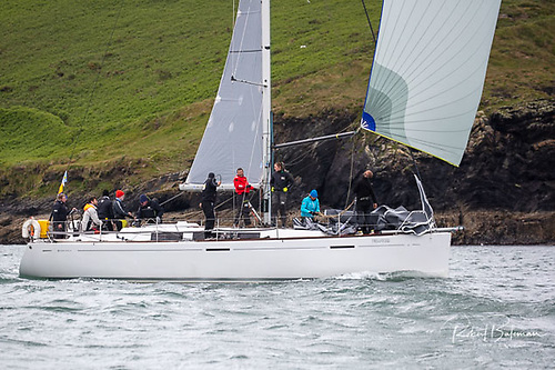Grand Soleil 40, owned by the Murphy Family from RCYC, took second in IRC Coastal