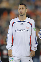 New England Revolution forward Clint Dempsey (2) during the team presentation. The New England Revolution defeated DC United 2-1, Saturday, October 7, 2006, at RFK Stadium.