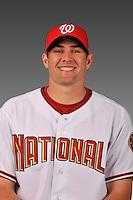 14 March 2008: ..Portrait of Craig Stammen, Washington Nationals Minor League player at Spring Training Camp 2008..Mandatory Photo Credit: Ed Wolfstein Photo