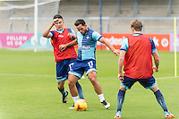 Sam Wood of Wycombe Wanderers during the Open Training Session in front of supporters during the Wycombe Wanderers 2016/17 Team & Individual Squad Photos at Adams Park, High Wycombe, England on 1 August 2016. Photo by Jeremy Nako.
