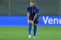 Cristiano Biraghi of Italy in action during the Uefa Nation League Group Stage A1 football match between Italy and Bosnia at Artemio Franchi Stadium in Firenze (Italy), September, 4, 2020. Photo Massimo Insabato / Insidefoto