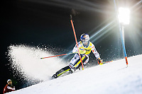 22nd December 2020, Madonna di Campiglio, Italy; FIS Mens slalom world cup race; Alexis Pinturault of France in action during his 1st run of mens Slalom