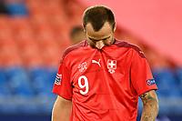 6th August 2020, Basel, Switzerland. UEFA National League football, Switzerland versus Germany;  Haris Seferovic, SUI