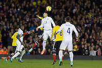 London, UK - Friday, November 14, 2014: Colombia defeated USMNT 2-1 in an international friendly game at Fulham's Craven Cottage.