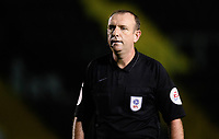 Referee Carl Boyeson<br /> <br /> Photographer Chris Vaughan/CameraSport<br /> <br /> EFL Papa John's Trophy - Northern Section - Group E - Lincoln City v Manchester City U21 - Tuesday 17th November 2020 - LNER Stadium - Lincoln<br />  <br /> World Copyright © 2020 CameraSport. All rights reserved. 43 Linden Ave. Countesthorpe. Leicester. England. LE8 5PG - Tel: +44 (0) 116 277 4147 - admin@camerasport.com - www.camerasport.com