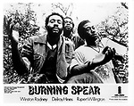 BURNING SPEAR.photo from promoarchive.com/ Photofeatures..