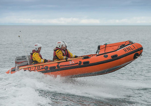 Larne Lifeboat Rescues Two on Fishing Boat With Engine Trouble