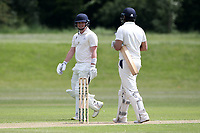 M Bell of Billericay leaves the field having been dismissed during Billericay CC (batting) vs Hornchurch CC, Hamro Foundation Essex League Cricket at the Toby Howe Cricket Ground on 12th June 2021