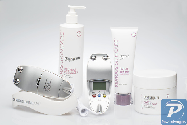 August 14, 2012:  Serious Skincare products for catalog
