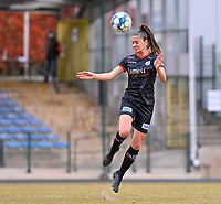 Romy Camps (3) of Zulte-Waregem pictured during a female soccer game between FC Femina White Star Woluwe and SV Zulte Waregem on the fifth matchday of play off 2 in the 2020 - 2021 season of Belgian Scooore Womens Super League , Saturday 8 th of May 2021  in Woluwe , Belgium . PHOTO SPORTPIX.BE   SPP   DAVID CATRY