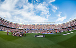 Players of Atletico de Madrid and Granada CF pose for pictures prior to their La Liga match at the Vicente Calderon Stadium on 15 October 2016 in Madrid, Spain. Photo by Diego Gonzalez Souto / Power Sport Images
