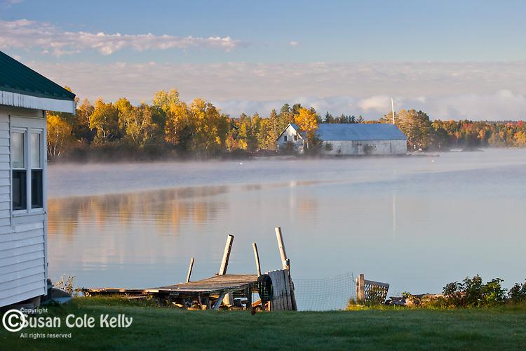 Sunrise on Moosehead Lake, Piscataquis County, ME, USA