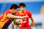 China rugby team in action during the HSBC Asian 7s at the Yuanshen stadium on August 27, 2011 in Shanghai, China. Photo by © Victor Fraile / The Power of Sport Images