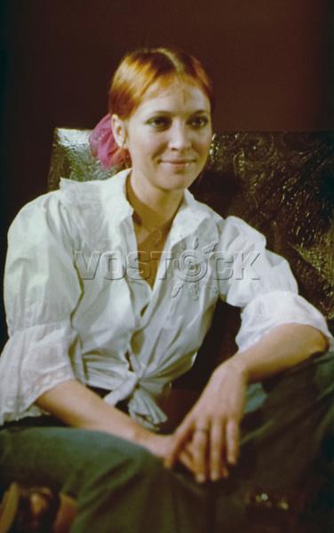 Анна Карина (Ханна Карин Бларке Байер) - датская и французская актриса театра и кино, кинорежиссёр, сценаристка, певица. / Anna Karina (Hanna Karin Blarke Bayer) - danish and french theater and film actress, film director, scriptwriter, singer.