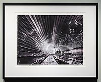 "Framed Size 16""h x 20""w, $450.<br /> Matte Black Nielsen 117 metal frame with non-glare glazing"