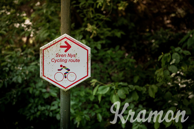 Muur van Wezemaal (Rotselaar)/ Sven Nys Cycling Route<br /> <br /> Cycling in Flanders (BEL)<br /> cycling hotspots in Brabant<br /> <br /> ©kramon