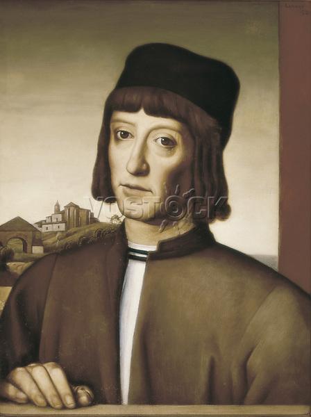 Portrait of Martin Alonso Pinzon (Palos del la Frontera, 1441-1493), Spanish navigator and explorer.