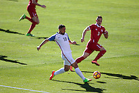 San Diego, CA - Sunday January 29, 2017: Sebastian Lletget during an international friendly between the men's national teams of the United States (USA) and Serbia (SRB) at Qualcomm Stadium.