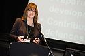 Rhona Geisler, Falkirk Council, at the Falkirk Business Panel Update Event 2012, Falkirk Town Hall...