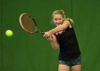 Almere, Netherlands, December 6, 2015, Winter Youth Circuit, Rixt van der Werff (NED)<br /> Photo: Tennisimages/Henk Koster
