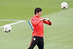 Atletico de Madrid's Stefan Savic\ during training session. April 4,2016.(ALTERPHOTOS/Acero)