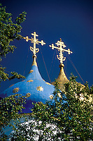 Cathedral of the Assumption Segiev Posad Zagorsk Russia.