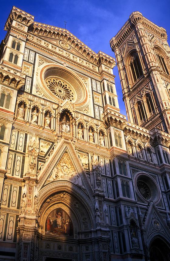 Italy, Florence, Cathedral of Santa Maria del Fiore (The Duomo) Piazza del Duomo