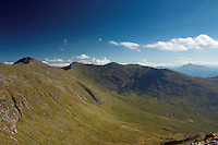 Coire Cruachan and Drochaid Ghlas from Meall Cuanail, Argyll & Bute