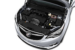 Car stock 2020 Buick Envision Preferred FWD 5 Door SUV engine high angle detail view