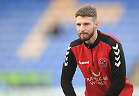 Fleetwood Town's James Husband during the pre-match warm-up <br /> <br /> Photographer Kevin Barnes/CameraSport<br /> <br /> The EFL Sky Bet League One - Shrewsbury Town v Fleetwood Town - Tuesday 1st January 2019 - New Meadow - Shrewsbury<br /> <br /> World Copyright © 2019 CameraSport. All rights reserved. 43 Linden Ave. Countesthorpe. Leicester. England. LE8 5PG - Tel: +44 (0) 116 277 4147 - admin@camerasport.com - www.camerasport.com
