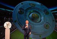 10.05.2014, Postpalast, Muenchen, GER, 1. FBL, FC Bayern Muenchen Meisterfeier, im Bild Karl-Heinz Rummenigge, CEO of FC Bayern Muenchen addresses the guests Karl-Heinz Rummenigge, // during official Championsparty of Bayern Munich at the Postpalast in Muenchen, Germany on 2014/05/11. EXPA Pictures © 2014, PhotoCredit: EXPA/ Eibner-Pressefoto/ EIBNER<br /> <br /> *****ATTENTION - OUT of GER***** <br /> Football Calcio 2013/2014<br /> Bundesliga 2013/2014 Bayern Campione Festeggiamenti <br /> Foto Expa / Insidefoto