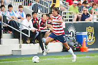 Shannon Boxx (7) of the United States (USA). The United States (USA) women defeated China PR (CHN) 4-1 during an international friendly at PPL Park in Chester, PA, on May 27, 2012.