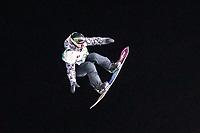9th January 2021; Kreischberg, Murau, Austria. FIS World Cup Womens Snowboarding Big Air; Annika Morgan of Germany during the final of womens Snowboard Big Air Competition