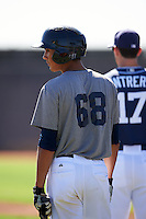 San Diego Padres Agustin Ruiz (68) during an Instructional League camp day on October 4, 2016 at the Peoria Sports Complex in Peoria, Arizona.  (Mike Janes/Four Seam Images)
