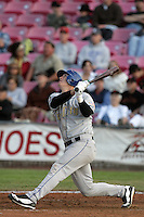 July 8 2009: Joe Sanders of the Tri City Dust Devils during game against the Salem-Kaizer Valcanoes at Volcanoes Stadium in Salem-Kaizer,CA.  Photo by Larry Goren/Four Seam Images