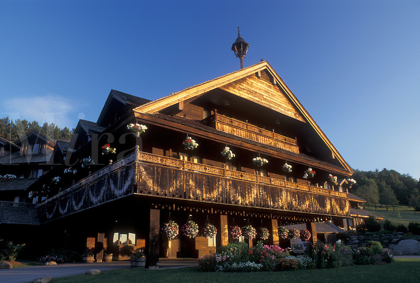 Vermont, VT, The Trapp Family Lodge in Stowe.