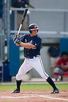 Chris Shehan (13) of the Danville Braves at bat at Dan Daniels Park in Danville, VA, Sunday July 27, 2008.