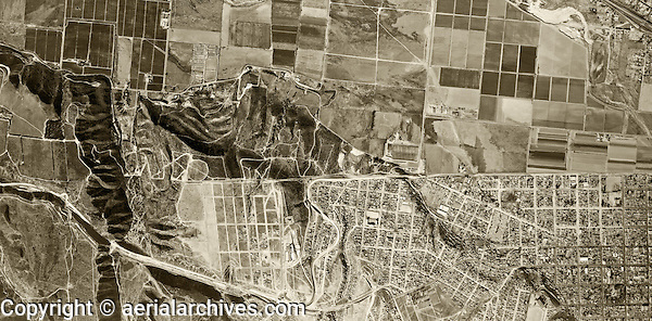 historical aerial photograph Mexican American border at Tijuana, Mexico and San Ysidro, California, 1966