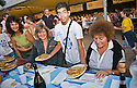 """SAGRA DEL """"PESCE E PATATE"""" 2011, BARGA, ITALY<br /> <br /> THE FISH AND CHIPS ARE SERVED."""