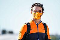 30th April 2021; Algarve International Circuit, in Portimao, Portugal; F1 Grand Prix of Portugal, Free practise:  NORRIS Lando (gbr), McLaren MCL35M