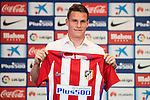 20160731. Atletico de Madrid's new player Kevin Gameiro.